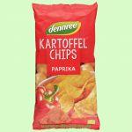 Kartoffelchips Paprika (dennree)