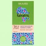 Zartbitterschokolade 70% Tigernuss Mandel (Fairafric)