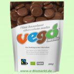 Fine Hazelnut Chocolate Melts (vego)