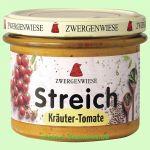 Kräuter-Tomate Streich - veganer Bio Brotaufstrich (Zwergenwiese)