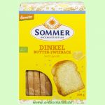 Dinkel Butter Zwieback leicht gesüßt (Sommer & Co.)