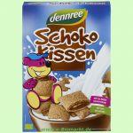 Schokokissen mit Schweizer Bio Schokolade (dennree)