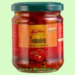 halbgetrocknete Tomaten, in Kräuteröl (Gustoni)