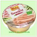 wie Teewurst, rein pflanzlich (Tartex)