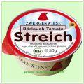 Bärlauch-Tomate Streich - vegetarischer Brotaufstrich (Zwergenwiese)
