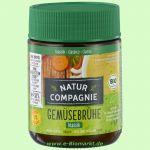 Klare Gemüsebrühe, feinkörnig, mit 33% Gemüse (Natur Compagnie)