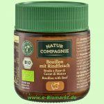 Klare Bouillon, mit Rindfleisch (Natur Compagnie)