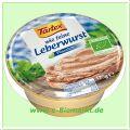 wie feine Leberwurst, rein pflanzlich (Tartex)