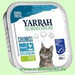 Katzenfutter Bröckchen Huhn und Makrele (Yarrah)