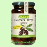 Kalamata Oliven, violett mit Stein, in Olivenöl (Rapunzel)