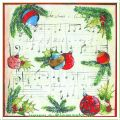 Serviette Motiv Christmas Melody (Venceremos)