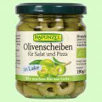 Olivenscheiben für Salat und Pizza (Rapunzel)
