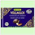 Vollmilch Schokolade mit ganzen Mandeln HIH (Rapunzel)