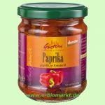 Gegrillte Paprika, in Kräuteröl (Gustoni)
