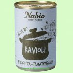 Ravioli in Ricotta-Tomatensauce (NAbio)