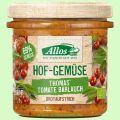 Hofgemüse Thomas Tomate Bärlauch - pflanzlicher Bio-Brotaufstrich (Allos)