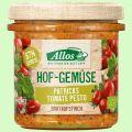 Hofgemüse Patrick`s Tomate Pesto - pflanzlicher Bio-Brotaufstrich (Allos)