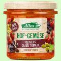 Hofgemüse Oliver`s Tomate Olive - pflanzlicher Bio-Brotaufstrich (Allos)