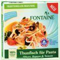 Thunfisch für Pasta Oliven, Kapern und Tomate (Fontaine)