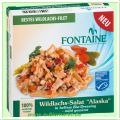 Wildlachs Salat Alaska in hellem Dressing (Fontaine)