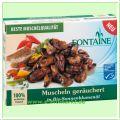 Muscheln geräuchert in Sonnenblumenöl (Fontaine)